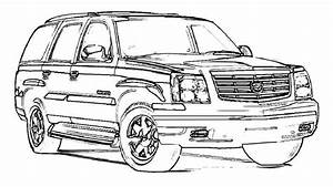 exotic supercar escalade cars coloring page add adhd With white cadillac cts6