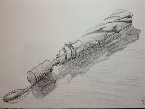 Pencil Sketch Of My Umbrella