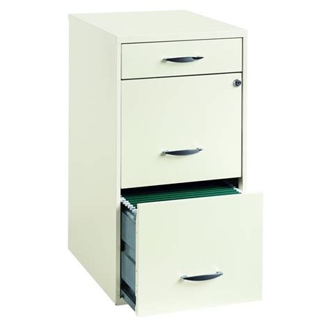 white file cabinet with lock 3 drawer steel file cabinet in white 19157
