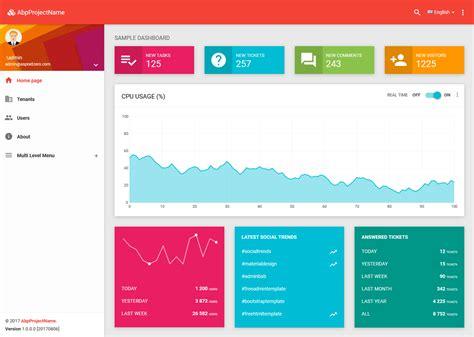 Aspx Net Templates Asp Net Boilerplate Startup Template