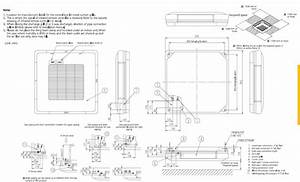 Daikin Air Conditioning Fua71a Under Ceiling Cassette 7kw 24000btu A R32 240v 50hz