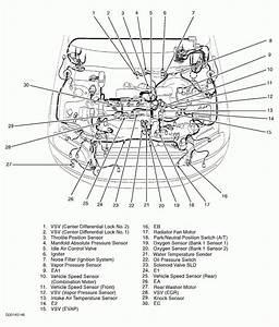 2007 Toyota Avalon Engine Diagram Of O2 Sensor
