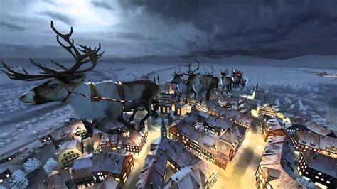Santa S Workshop Wallpaper Animated - santa claus 3d live wallpaper and screensaver