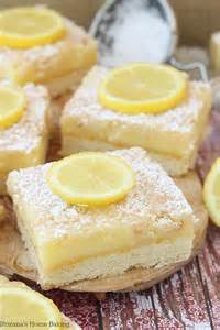 Dessert Lemon Bars Recipe