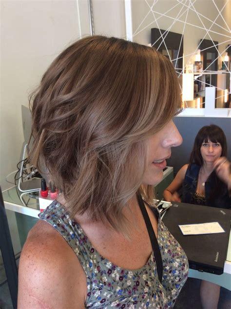 Medium Ash Hair Color by Medium Brown Aline Hair Ash