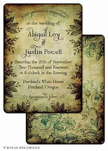 25 best ideas about vintage wedding invitations on With wedding invitations with multiple pictures