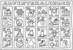 Adventskalender Grundschule Ideen : ideenreise adventskalender zum ausmalen grundschule pinterest ~ Somuchworld.com Haus und Dekorationen