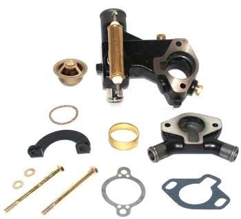 mercruiser thermostat housing page  iboats boating