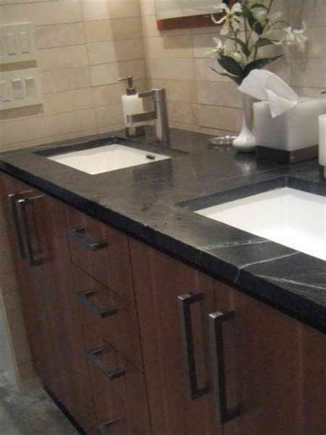 Best Sink Material For Bathroom by Kitchen Best Material For Countertops For Bathroom The