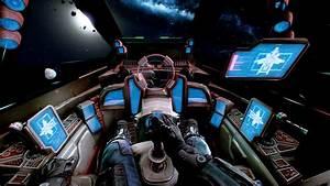 Alien Spaceship Cockpit