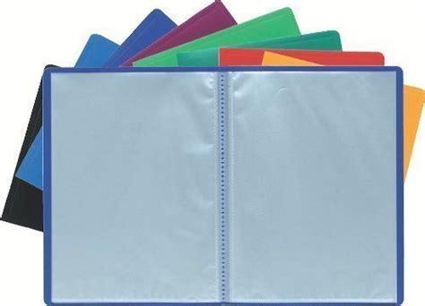 a4 cover display book anti glare pockets presentation