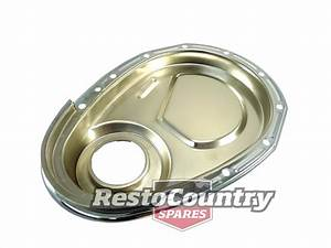 Small Block Chev Chrome Timing Chain Cover 265 267 283 302