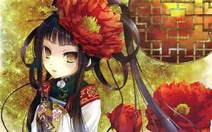 Original, Characters, Anime, Anime, Girls, Kimono, Wallpapers, Hd, Desktop, And, Mobile, Backgrounds