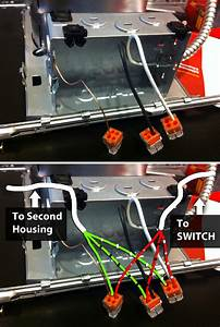 1 Switch 3 Lights Wiring Diagram