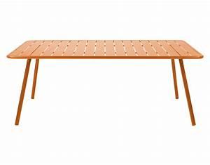 Tisch 8 Personen Quadratisch : luxembourg rechteckig 8 personen l 207 cm fermob tisch ~ Michelbontemps.com Haus und Dekorationen