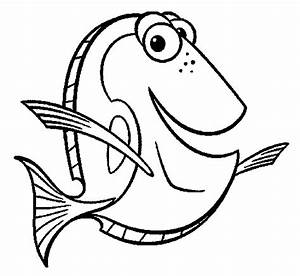 Finding Dory Coloring Pages - Koloringpages
