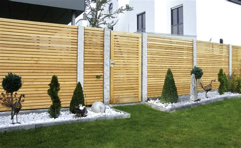 Sichtschutzzaun Holz Garten by Sichtschutzzaun Rankgitter Holz Bvrao