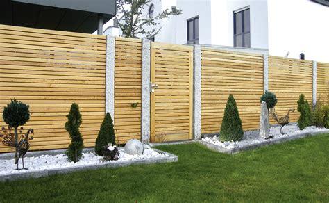Garten  Sichtschutzzaun Holzsichtschutzzaun
