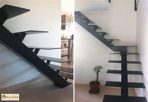 Escalier Métal Design 1/4 Tournant (gauche Ou Droit