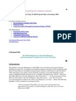 Short title and page number for student papers. A Sample of Qualitative Research Proposal Written in the APA Style | Qualitative Research ...