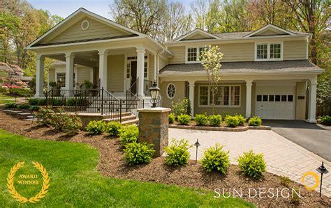 Exterior Home Design Portfolio Northern Va  Sun Design