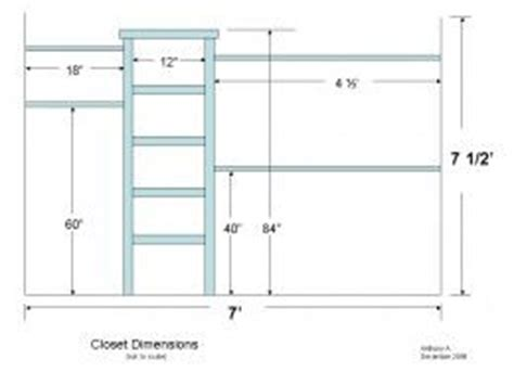 walk  closet dimensions ideas  pinterest master closet design master closet