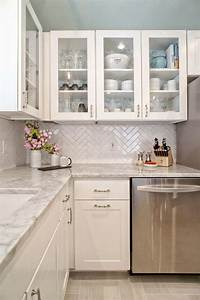 5 ways to create a white kitchen backsplash interior With kitchen colors with white cabinets with butterfly wall art outdoor