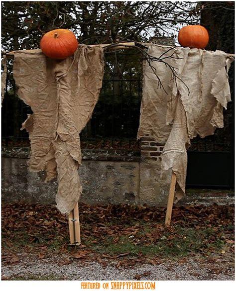 scary halloween decoration ideas    yard pics