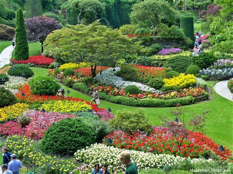 Beauty And Renewal At Butchart Gardens