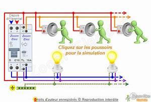 Cablage Bouton Poussoir : schema cablage telerupteur debflex ~ Nature-et-papiers.com Idées de Décoration