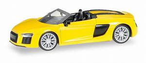 2016 Audi R8 Spyder in Vegas Yellow by Herpa - 1:87 Scale ...