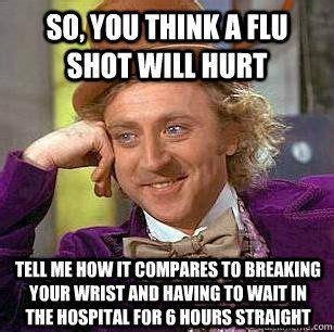 Flu Shot Meme - the best collection of flu shot memes doctors immediate care inc coupons pinterest flu