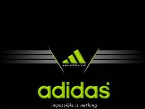 Adidas Logo Green Wallpaper Computer Desktop B #9044 ...