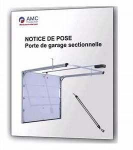 Montage Porte De Garage : notice de montage porte de garage sectionnelle tout pour ~ Dailycaller-alerts.com Idées de Décoration