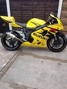 2005 Suzuki Gsxr 600 K4 Yellow