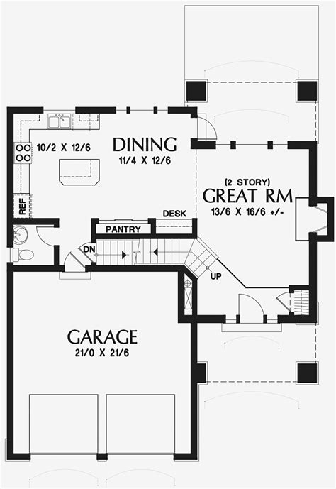 House Plan 81233 Traditional Style with 1500 Sq Ft 3