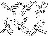 Coloring Dragonfly Cartoon Libellule Libelle Animaux Colouring Realistic Insect Ausmalbilder Printable Dragonflies Coloriage Sheets Freecoloringpages Coloriages Template sketch template