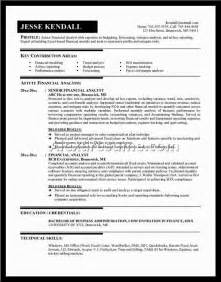 Resume Objective Financial Manager by Project Manager Sle Resumesalexa Document Document