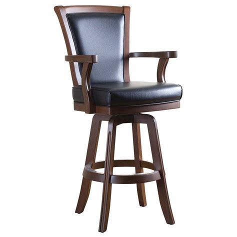 Upholstered Bar Stools With Arms by 8 Upholstered Bar Stools With Backs And Arms Images My