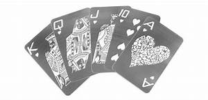 Stainless Steel Playing Cards - The Green Head