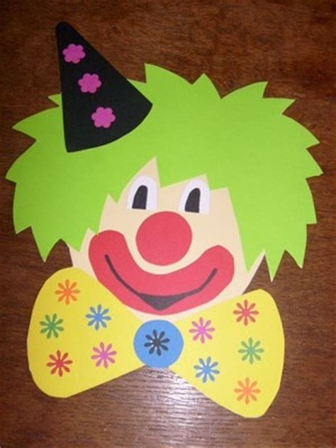 clown activities for preschoolers free clown craft idea for crafts and worksheets for 966
