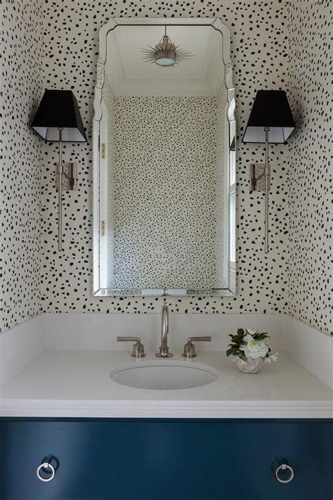 bathrooms thibaut tanzania wallpaper black  cream design