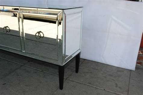 Mirror Credenza by Mirrored Credenza Or Buffet At 1stdibs