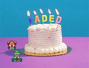 Faded Happy Birthday GIF by Birthday Bot - Find & Share on ...