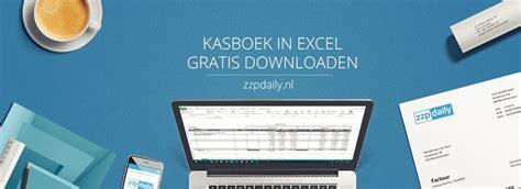 foto de Voorbeeld kasboek Excel en Word ZZP Daily