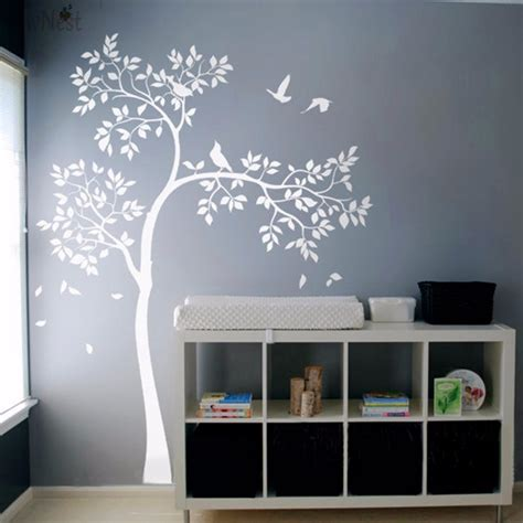 aliexpress buy white tree wall decal vinyl