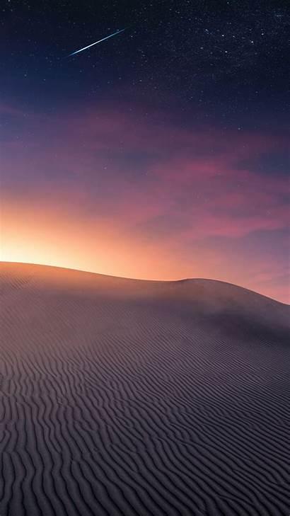 Desert Sunset Dunes Sand Iphone Wallpapers Sky