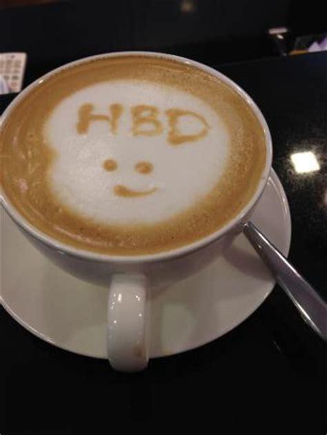 Happy Birthday Coffee   Picture of Twiggs Bakery and Cafe, Prachuap Khiri Khan   TripAdvisor