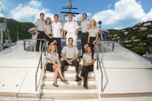 below deck s boat sinks in the caribbean while filming daily mail