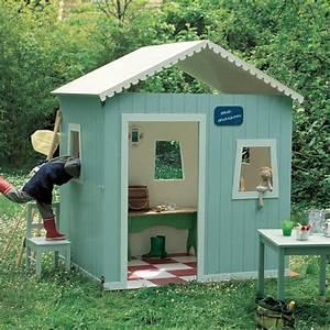 une cabane de jardin pour enfant marie claire With fabriquer une cabane de jardin pour enfant